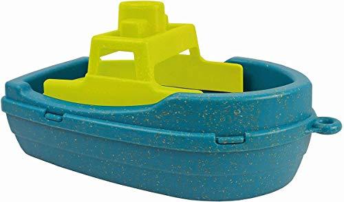 Anbac 70065 Toys-Motorboot (blau/gelb), Multi Color