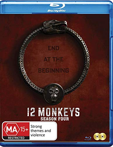 12 Monkeys - Season 4 [Import - Australia] [Blu-ray]