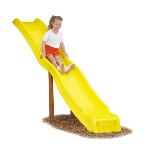Big Sale Best Cheap Deals Giant Cool Wave Slide in Yellow