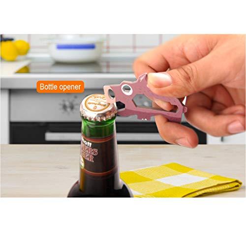 Keychain Multi-Tool EDC Mini-Tool 10-in-1
