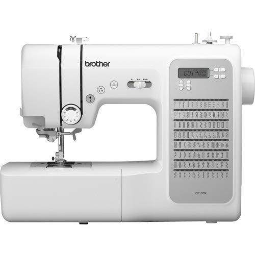Brother CP100X Computerized Sewing and Quilting Machine, White