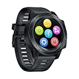 Zeblaze Vibe 5 PRO Smart Watch Fitness Watch, 1.3 inch IPS Touch Screen, Health Monitor, IP67 Waterproof Activity Tracker, Bluetooth 4.0, Compatible with Android / iOS