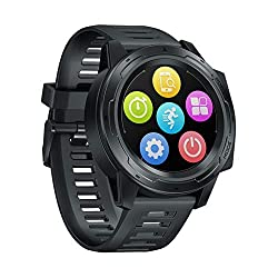 Zeblaze Vibe 5 PRO Smart Watch Fitness Watch, 1.3 inch IPS Touch Screen, Health Monitor, IP67 Waterproof Activity Tracker, Bluetooth 4.0, Compatible with Android/iOS