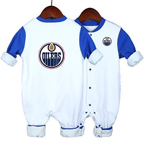 ZGRNB Eishockey Trikot NHL Sportfan Baby Creepers Strampler New York Islanders Ottawa Senatoren New York Rangers Edmonton Oilers St. Louis Blues Höhe 59 cm-90 cm