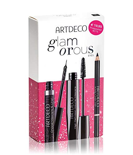 Artdeco Glam Eyes Mascara Augen Make-up Set (Mascara,10ml+Eyeliner,5ml+Kajalstift,1.1g), 200 g