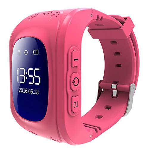 Kids Smart Watch SmartWatch Podómetro Reloj Deportivo Soporte Multi-Language, Reloj multifunción con Memoria Deportiva, Adecuado para niños,Five