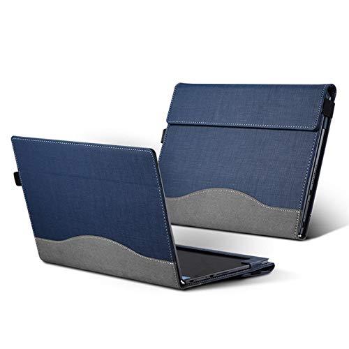 GHC Pad Fundas & Covers para Lenovo Yoga Libro 10.1 2016, PU Cuero PROTEC Cover con diseño de Tableta Lenovo Yoga Libro 10.1 (Color : Deep Blue)
