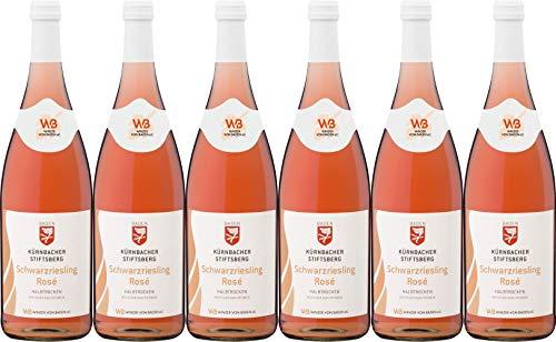 Winzer von Baden Schwarzriesling Rosé Kürnbacher Stiftsberg 2018 Halbtrocken (6 x 1.0 l)