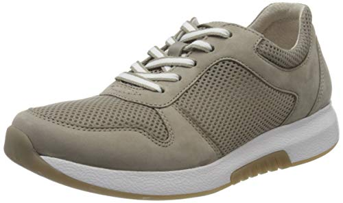 Gabor Damen Rollingsoft 46.946 Sneaker, Braun (Visone 33), 43 EU