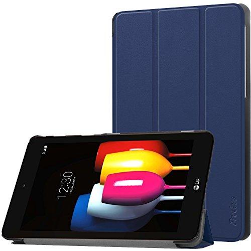 ProHülle Sprint LG G Pad F2 8.0 Hülle, Slim Stand Hartschalenkoffer Intelligente Abdeckung für LG G Pad F2 8.0 LK460 Tablet 2017 -Navy