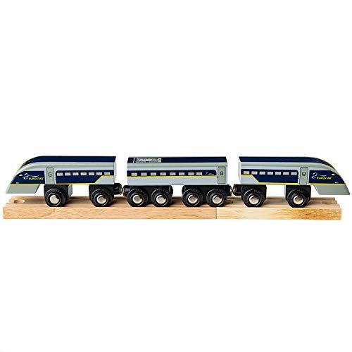 Bigjigs Rail Eurostar e320 Zug