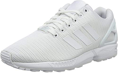 adidas Originals Unisex-Erwachsene ZX Flux Turnschuh, Footwear White/Clear Grey, 43 1/3 EU
