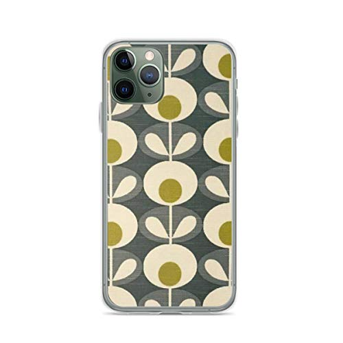 Phone Case Orla Kiely Design Compatible with iPhone 6 6s 7 8 X Xs Xr 11 12 Pro Max Mini Se 2020 Funny Scratch Accessories