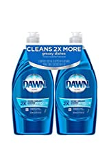 Contains 3X MORE Grease Cleaning Power (cleaning ingredients per drop vs. the leading bargain brand) Our Powerful Formula helps you get through more dishes with less dishwashing liquid America's #1 Dish Liquid (Based on Sales) Dawn Ultra Dishwashing ...
