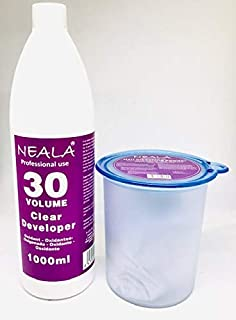 Kit decoloración sin amoniaco para el pelo Neala.