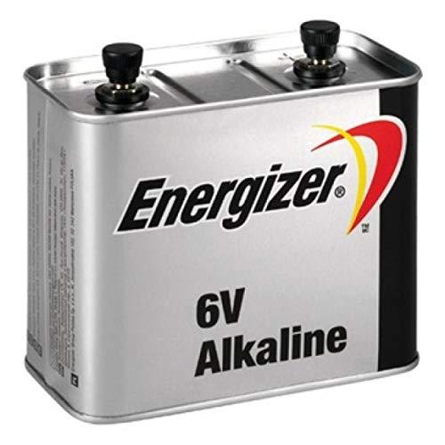 Energizer Pila de Bloque 4LR25-2 para Linternas, Radios, Camping-Luz, 6V, Alkaline
