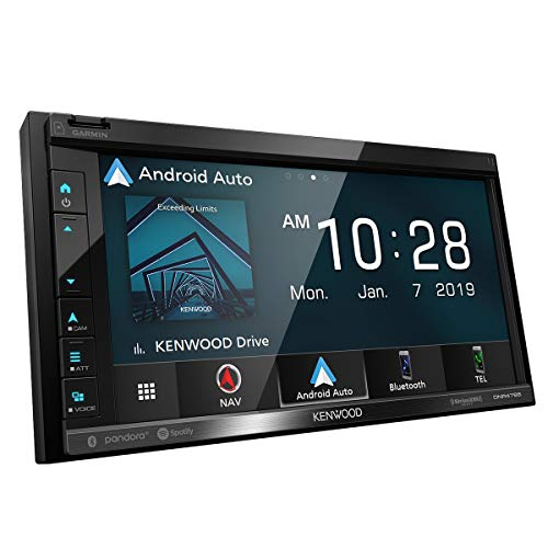 Kenwood DNR-476R 6.8' Navigation Receiver w/Carplay & Android Auto