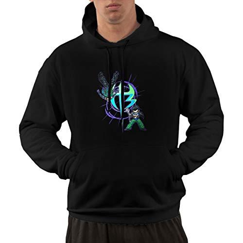 Jeff Hardy Logo Mens Hoodie Casual Sweatshirts Black