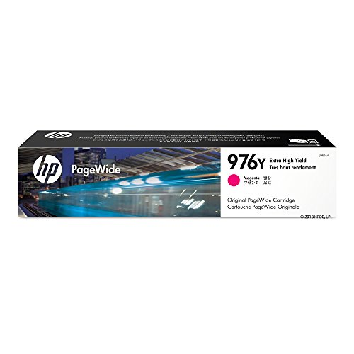 HP 976Y Magenta Extra High Yield Original PageWide Cartridge (L0R06A) for HP PageWide Pro 552dw 577dw 577z