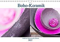 Boho - Keramik, modernes Steinzeug fuer Zuhause (Wandkalender 2022 DIN A4 quer): Unikate aus dem Hause Crafthouse (Monatskalender, 14 Seiten )