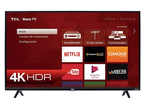 TV TCL 50' 4K UHD Roku Tv LED 50S425
