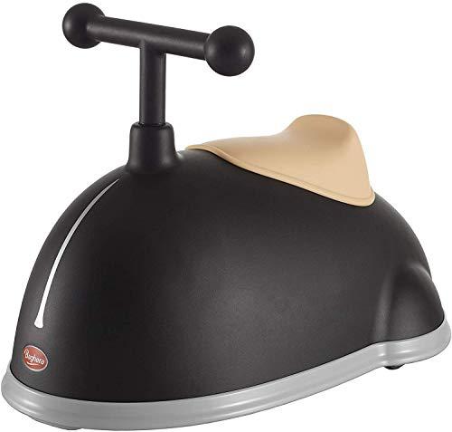Baghera Rutschauto Twister Schwarz | Rutschfahrzeug für Kinder - Langlebiger ABS Kunststoff - Zahlreiche lebensechte Details | Retro Rutschauto für Kinder ab 1 Jahr