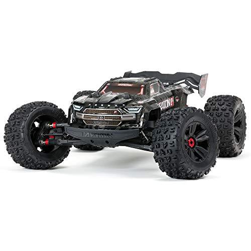 ARRMA RC Truck 1/5 KRATON 4WD Extreme Bash Roller, Black, ARA5208