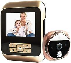 Deurbel M530 3,0 inch scherm 3,0 MP camera video digitale deurprojector, ondersteuning TF-kaart (32 GB max) en infrarood n...