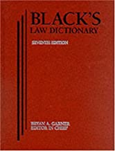 black law dictionary 7th edition