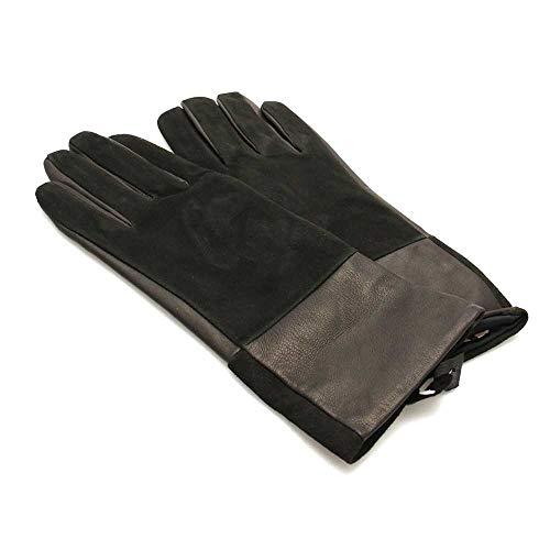 TWIN-SET Handschuhe Damen Veloursleder S - OA8T5D-00006-S