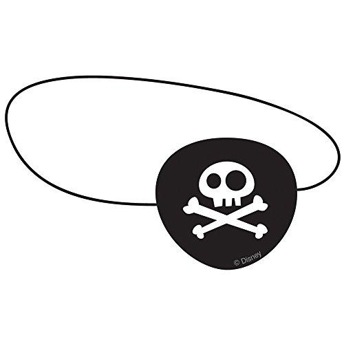 Disney Jake et Les Pirates du Pays Imaginaire Eye Patches Lots Cadeaux de fête