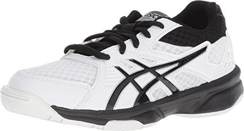 Asics Unisex Child Upcourt 3 Gs Shoes 4 UK WhiteBlack