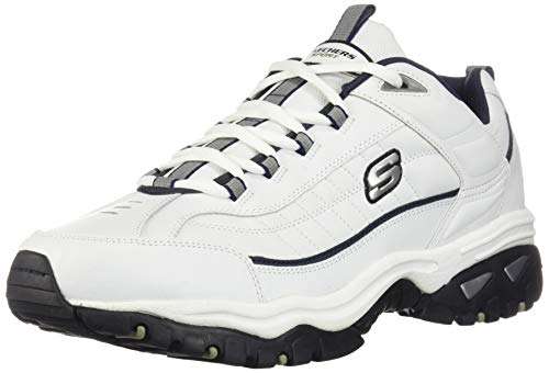 Skechers Men's Energy Afterburn Lace-Up Sneaker,Black,13 XW