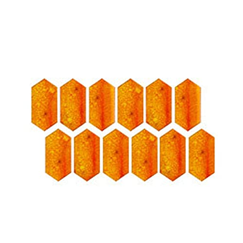 3D Crystal Tile Stickers - DIY Waterproof Self-Adhesive Wall Stickers Mosaic Tiles - 3D Tiles Stickers for Kitchen Bathroom Backsplash Peel and Stick