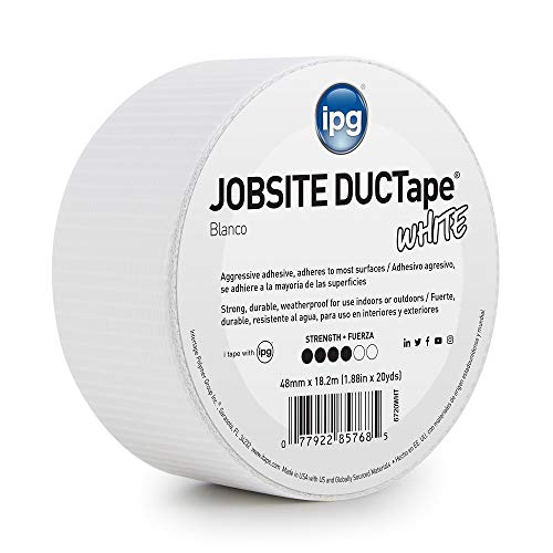 IPG JobSite DUCTape, Colored Duct Tape, 1.88
