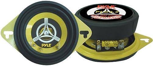 Car Two Way Speaker System – Pro 3.5 Inch 120 Watt 4 Ohm Mid Tweeter Component..