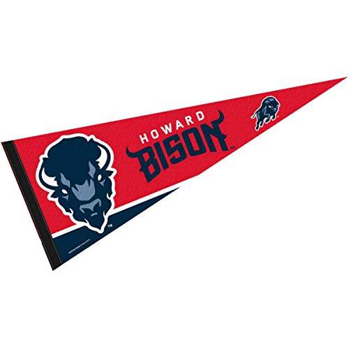 College Flags & Banners Co. Howard Bison Pennant Full Size Felt