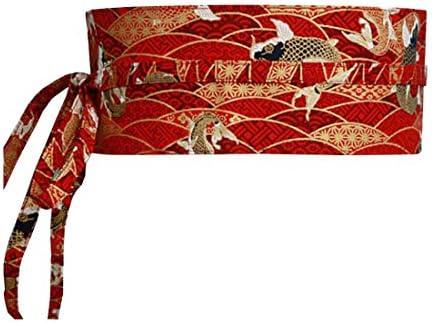 MAYSONG Women's Japanese Kimono Robe Obi Belt Waistband