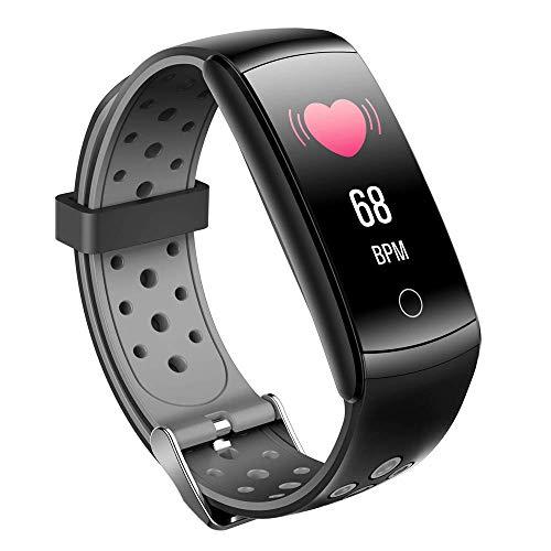 ZMY High-End Fitness Trackers, IP68 Waterdichte Fitness Horloge met Hartslagmeter, Stappenteller, Slaapmonitor, Gezondheidsactiviteit Tracker als Stappenteller Horloge voor Kinderen Vrouwen Mannen