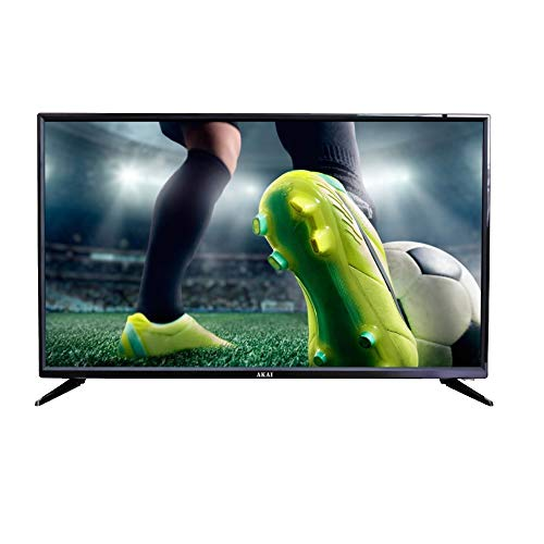 TV Led 32' AKAI AKTV3225E Smart Sat, Negro, Smart TV