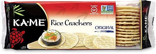 Ka-Me Gluten Free Rice Crackers, Original, 3.5 Ounce (Pack of 12)