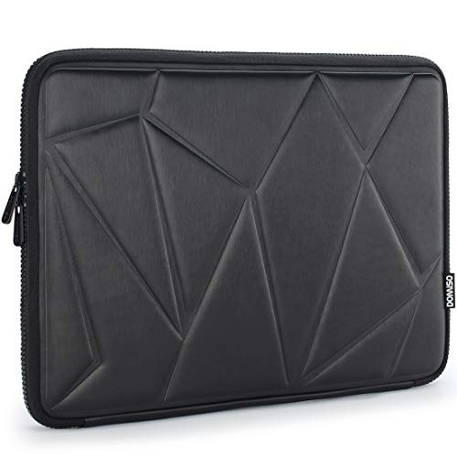 "DOMISO 13.3 Pouces Housse Sac Protection Ordinateur Portable Sacoche pour 13"" MacBook Air/Surface Book 2/Lenovo Yoga C930/ThinkPad X1 Carbon/Huawei MateBook D/ASUS ZenBook/Dell Inspiron 13,Noir"