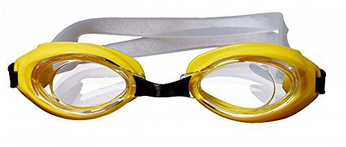 Best Sporting Schwimmbrille Octopus, gelb oder grün, Farbe:gelb