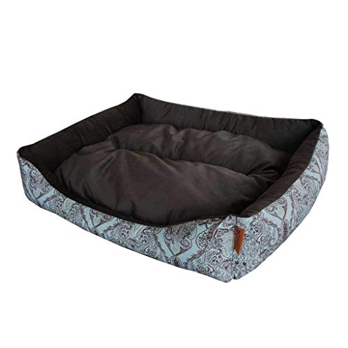 Guomaomao Huisdier Bed Kat Bed Grote Hond Bed Zachte Warm Wasbare Huisdier Sofa Kennel Seizoenen Universele Mand Kussen, S(45x33cm), E
