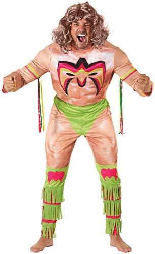 Morph Licensed Classic WWE Ultimate Warrior Adults Halloween Costume