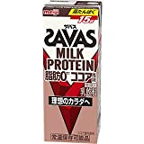 ザバス ミルクプロテイン 脂肪0 ココア風味 紙パック 200ml ×24本