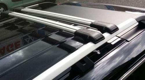 Citroen C4Cactus con cerradura gris Cruz Bar accesorio de 2014A partir 75kg