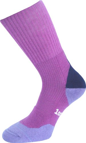 1000 Mile Damen Walking Socken Fusion Merino, Fuchsie, M, 2032FLM