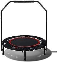 Vouwen indoor trampoline rebounder kleine oefening trampoline met stuur rebounder springen fitness trampoline stil en veil...