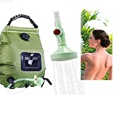 Solar Shower Bags for Camping 5.2 Gallons, Solar Heating Camping Shower Bag Hot